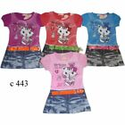 Lovely Girl Summer Dress short sleeve Kitty 3-4-5-6-7-8 BNWT Bargain Price