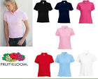 Fruit of the Loom Lady-fit polo All Colours & Sizes