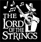 Banjo Decal Lord Of The Strings Music Car Truck Country Bluegrass Sticker