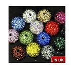 Wholesale Shamballa Crystal Pave Clay Disco Ball Beads 6mm 8mm 10mm 12mm 14mm