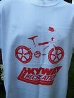 NEW VINTAGE STYLE OLD SCHOOL BMX SKYWAY RETRO T SHIRT RALEIGH BURNER 80'S