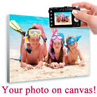 LARGE Your Photo Print on Canvas custom printing own picture image custom poster