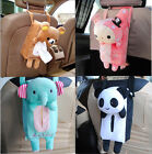 Animal Design Home Office Car Tissue Box Napkin Cover Holder Paper Bag Organizer
