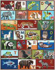 Внешний вид - ABC Alphabet, preschool, learning, Nursery Wall Print. art, Little Pig Studios