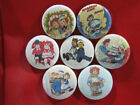 RAGGEDY ANN AND ANDY  NEW Set of 7 Select-a-Size of Pinback Buttons