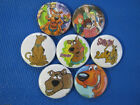 SCOOBY DOO LOVE THAT DOG   Set of 7 SELECT SIZE  New Pinback Buttons Badges