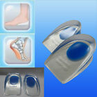 Pure Silicone Gel Blue Spot Heel Cups to treat Plantar Fasciitis - UK SELLER