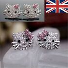 HELLO KITTY DIAMANTE EARRINGS FREE GIFT BAG DIFFRENT VARIATIONS UK FAST DELIVERY