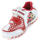 Girls SIZE 6 - 12 White Red MINNIE MOUSE Trainers New Disney JUBILEE Velcro
