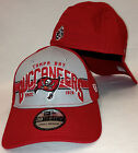 NEW ERA 39Thirty Tampa Bay Buccaneers Fitted Hat Flex Red Gray Bucs Pirate Flag