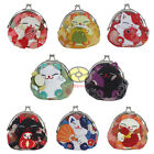 "8/16/24/48PCS Wholesale Mixed Cat Coin Bag Change Purse Wallet size4x4"" SNA041"
