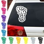 Squatch decal sticker car truck Sasquatch yeti Bigfoot big foot print Monsters