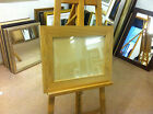 "MODERN 4"" FLAT SOLID OAK PHOTOGRAPH/PICTURE FRAME-VARIOUS SIZES AVAILABLE"