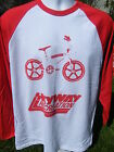 NEW VINTAGE STYLE OLD SCHOOL BMX SKYWAY RETRO L/S T SHIRT RALEIGH BURNER 80'S