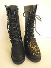 Ladies creeper style platformed lace boots(Spot On.F50018.)