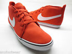 Nike Women's Toki Lite LTHR Challenge Red White Canvas Casual Shoes 525319 600