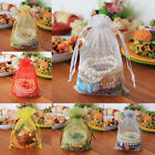 "100 15x20cm 6""x8"" Large Size Organza Bags Jewelry Pouches Wedding Party Favour"
