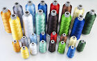 MADEIRA POLYNEON NO 40 MACHINE EMBROIDERY THREAD 1000 & 5000M ALL COLORS NEW
