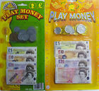 Toy Play Money Sets (Notes and Coins) Great Educational Toy Free UK Postage