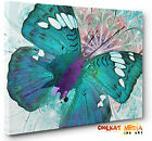 Abstract Butterfly Canvas Print Unique Exclusive Wall Art  A4 - A1 + Many Styles