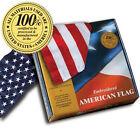 Embroidered 2-ft-by-3-ft American Flags *100% MADE IN U.S.A.* Allied Flag™ 2'x3'