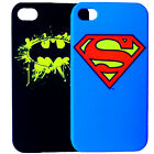 ORIGINAL SUPERMAN & BATMAN IPHONE 4 4S 5 CASE RETAIL PACKED DARK KNIGHT STEEL DC
