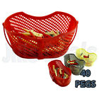 PLASTIC HANGING PEG BASKET WITH 40 CLOTHES PEGS LAUNDRY PEG BAG WASHING LINE