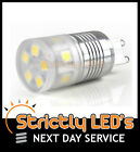 G9 LED BULB CAPSULE 5050 SMD 3W ENERGY SAVER HALOGEN REPLACEMENT WARM DAY COOL
