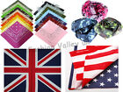 BANDANA HEAD SCARF NECK SCARF SCARVES PAISLEY CAMOUFLAGE MANY COLOURS UK SELLER