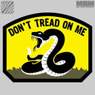 MSM Don't Tread On Me  Modern Gadsen Flag Morale Patch with Velcro Backing