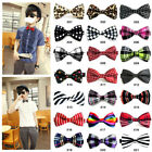 Fashion Men's Adjustable Bowtie Polyester Pre Tied Wedding Bow Tie-21 Styles