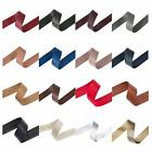 Neotrims PU Faux Imitation Leather Tape Trimming Ribbon Coach Pram Strap Strip