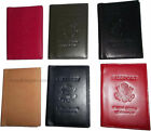 New USA Leather passport cover, wallet credit ATM case, card passport case, bnwt