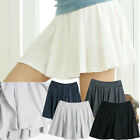 Short flared skirt underpants mini pants skirt Woman School girl Clothing Wear