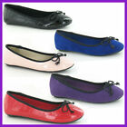 Childrens Spot On Girls Ballerina Style Shoes, Multiple Colours, Style -H2236