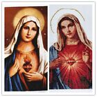 New Finished Completed Cross Stitch - Madonna -freeshipping to USA