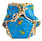 Kushies Reusable Cloth Swim Diaper Bottoms for Boys or Girls 6-50 lbs - O210