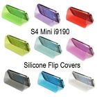 FLIP CASE Battery Back COVER SILICONE SOFT GEL For SAMSUNG GALAXY S4 Mini i9190
