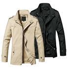 JK032 New Spring Fashion Mens Sports Waterproof Windproof Thin Jackets Coats
