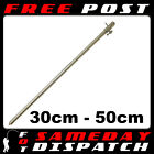 NGT Stainless Steel Bank Sticks 30cm  50cm -12 inch  19 inch carp Coarse fishing