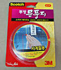 New3M Scotch Clear Polyurethane Weatherstrip Draught Excluder Seal Door Window