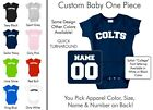 Colts Baby One Piece - Custom Name and Number, Creeper, Onesie