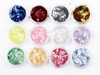 Chunky Hexagon Mylar Ice Flakes Nail Art Glitter buy 2 or more get free refills