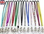 Lanyard Rhinestone CRYSTAL ID Card badge holder Neck key  diamonte gems