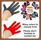 Top fashion! Lady's Real Leather Half Palm Gloves / Fingers Gloves