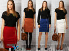 Women's Elegant Office Classic Work Party Casual Bodycon Pencil Skirt M16