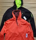 FILA SPORT MENS PULLOVER POLYESTER ATHLETIC HOODIE W/PHONE POCKET LIST $45