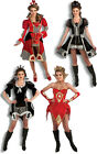 ROYALTY QUEEN OF HEARTS SPADES DIAMONDS CLUBS ADULT WOMENS FANCY DRESS COSTUME
