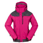 New Womens Jacket 3in1 Winter Outerwear Ski Snow Climbing Hiking Outdoor Coat