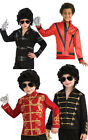 LICENSED JACKSON MILITARY BAD THRILLER JACKET FANCY DRESS HALLOWEEN COSTUME